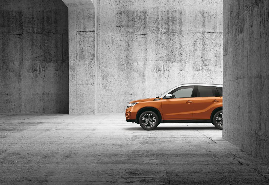 Vijf EuroNCAP-sterren voor de nieuwe Suzuki Vitara