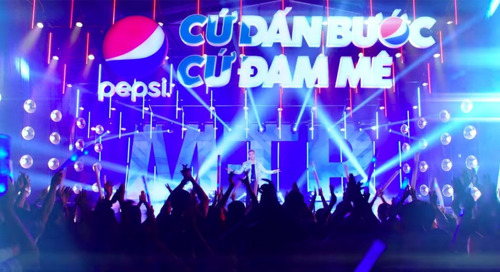 PEPSI BREAKS RECORDS IN VIETNAM WITH LAUNCH OF NEW BRAND CLAIM
