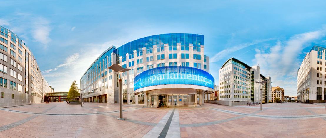 Virtueel bezoek van het Parlamentarium te Brussel
