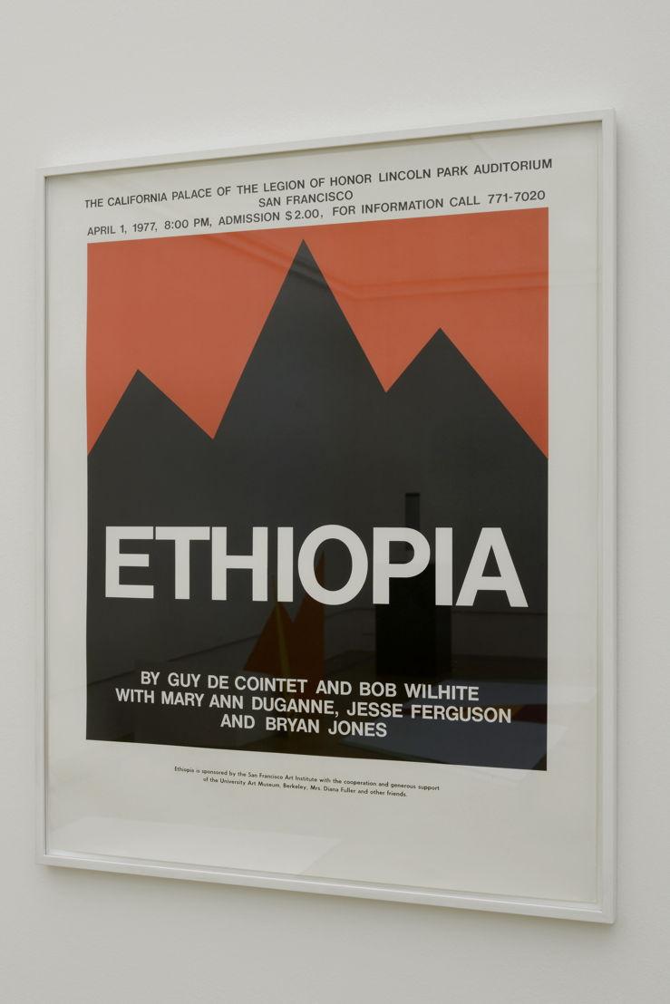 Affiche Ethiopia   Courtesy Centre Pompidou, Paris<br/>Musée national d'art moderne / Centre de création<br/>industrielle , foto (c) Isabelle Arthuis