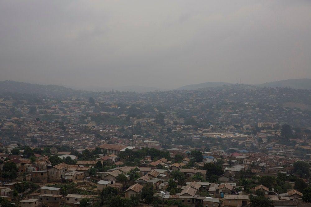 General view of Matadi, Democratic Republic of Congo. Photographer: MSF