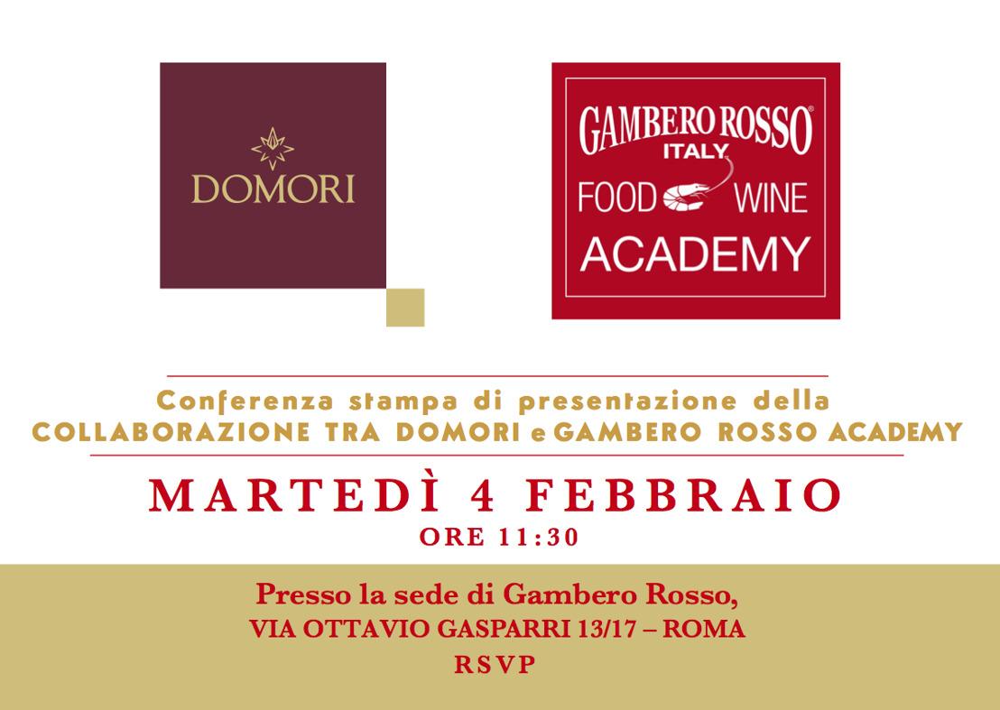 Domori e Gambero Rosso Academy