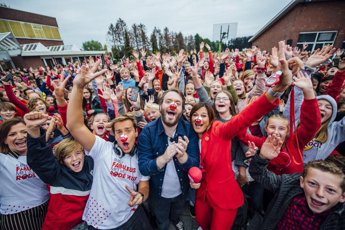 Aftrap vierde editie Rode Neuzen Dag: focus op mentaal, fysiek en sociaal weerbaarder maken van jongeren