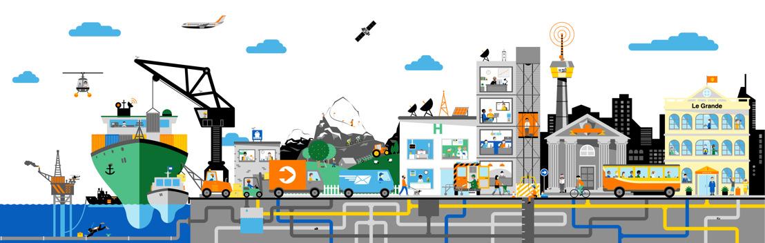 Orange Belgium lanceert als eerste in België een 5G-testhub voor bedrijven: de Orange Industry 4.0 Campus in de haven van Antwerpen