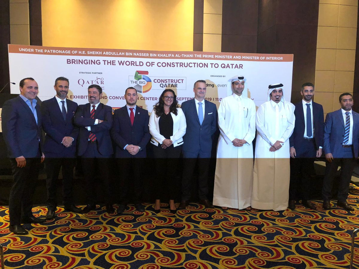 The Big 5 Construct Qatar Press Conference 2019