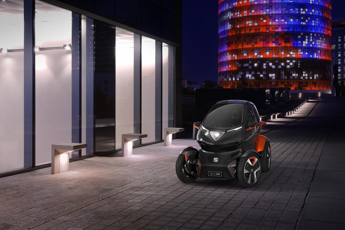 SEAT Minimó: een visie op de toekomst van stedelijke mobiliteit