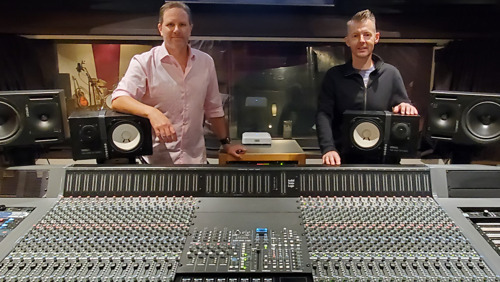 Solid State Logic ORIGIN Makes Debut at Republic Records' Los Angeles Recording Facility