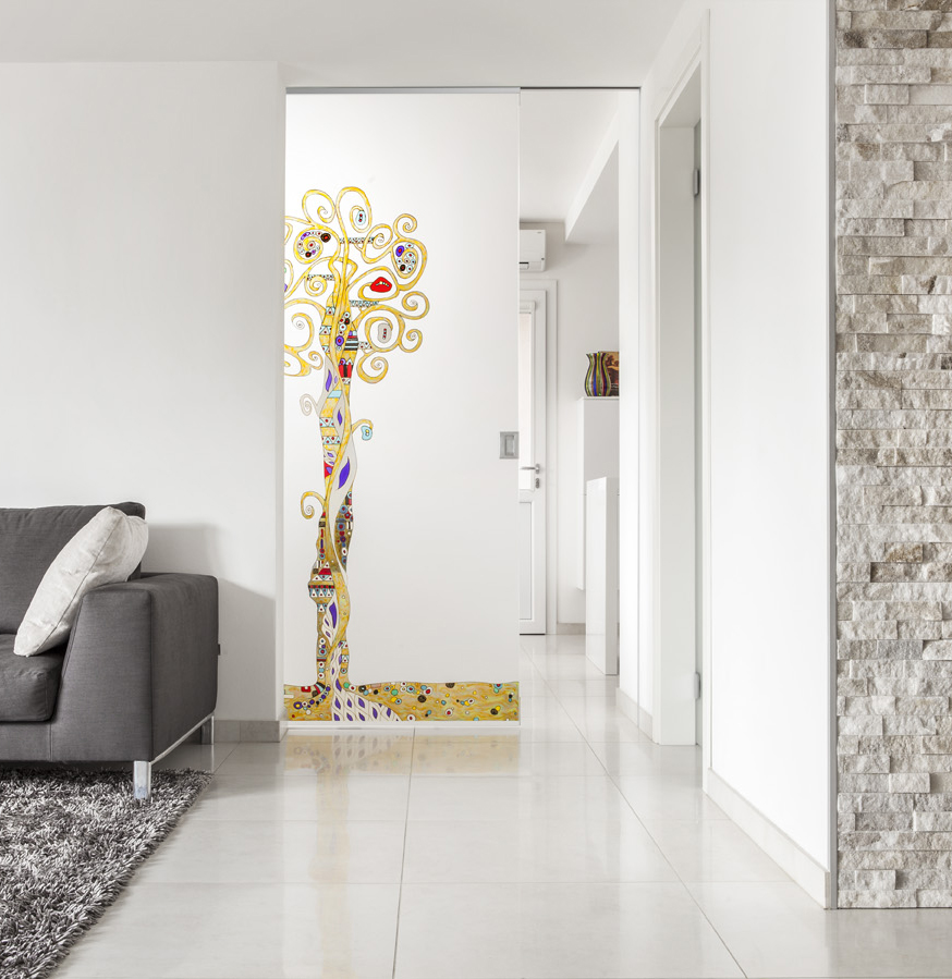 Sliding pocked door by Eclisse