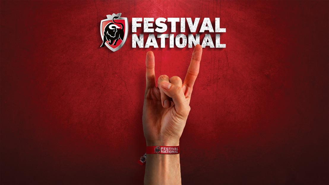 Jupiler Festival National: 8-15-22 mei - Omdat de festivalzomer niet vroeg genoeg kan starten.