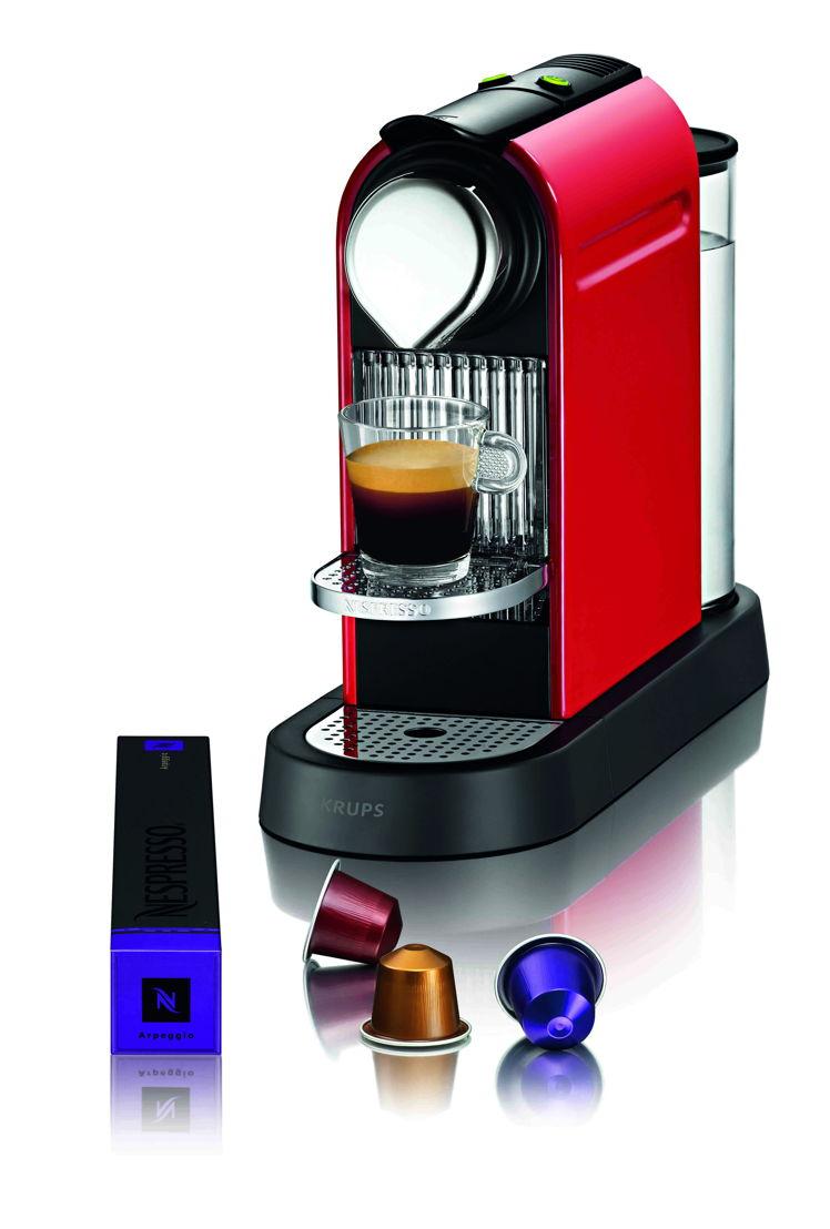 Aanbevolen verkoopprijzen<br/><br/>Nespresso Citiz Fire-engine Red - 178,95 euro