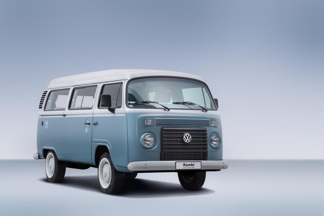 Volkswagen do Brazil brengt de 'Kombi Last Edition' op