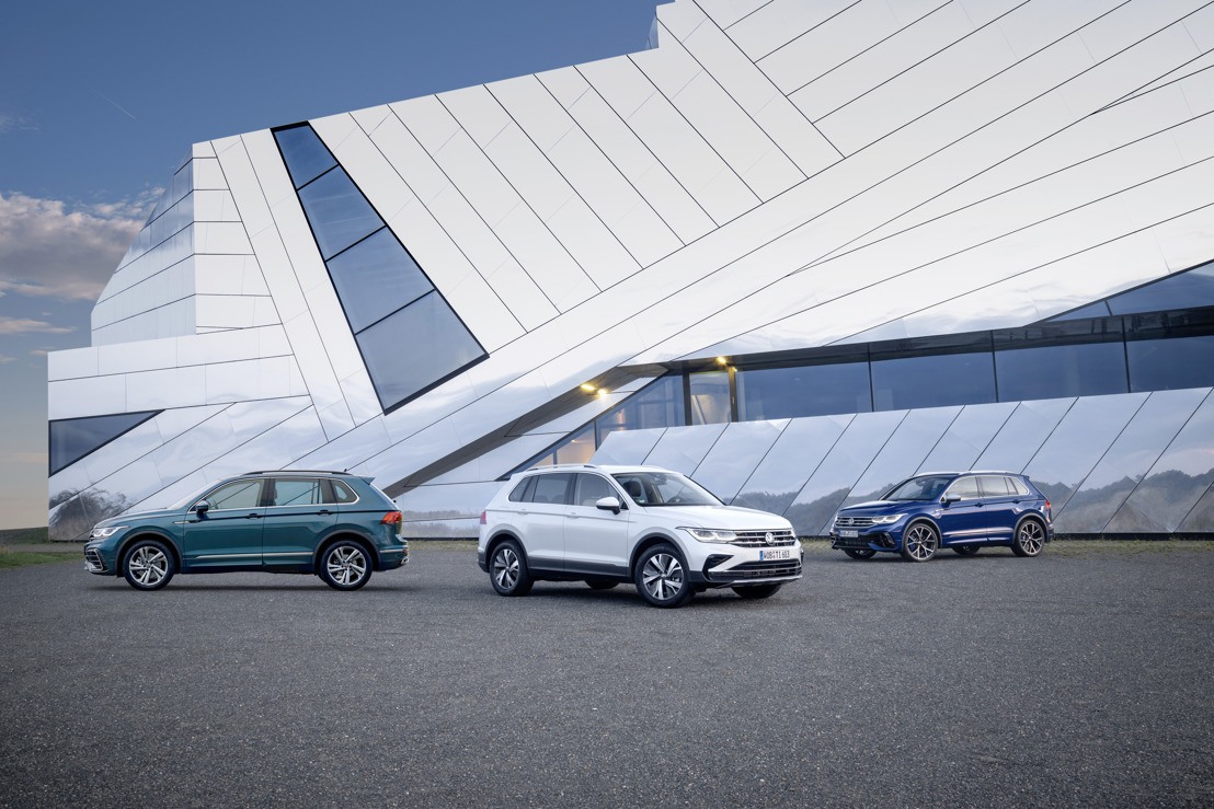 Electrified and energised: The new Tiguan
