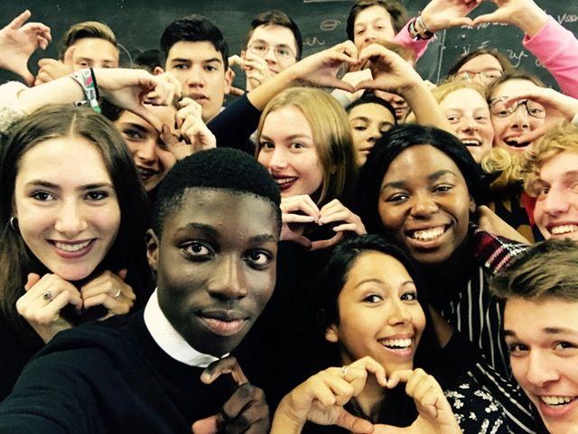 De klas met Danira Boukhriss (c) VRT