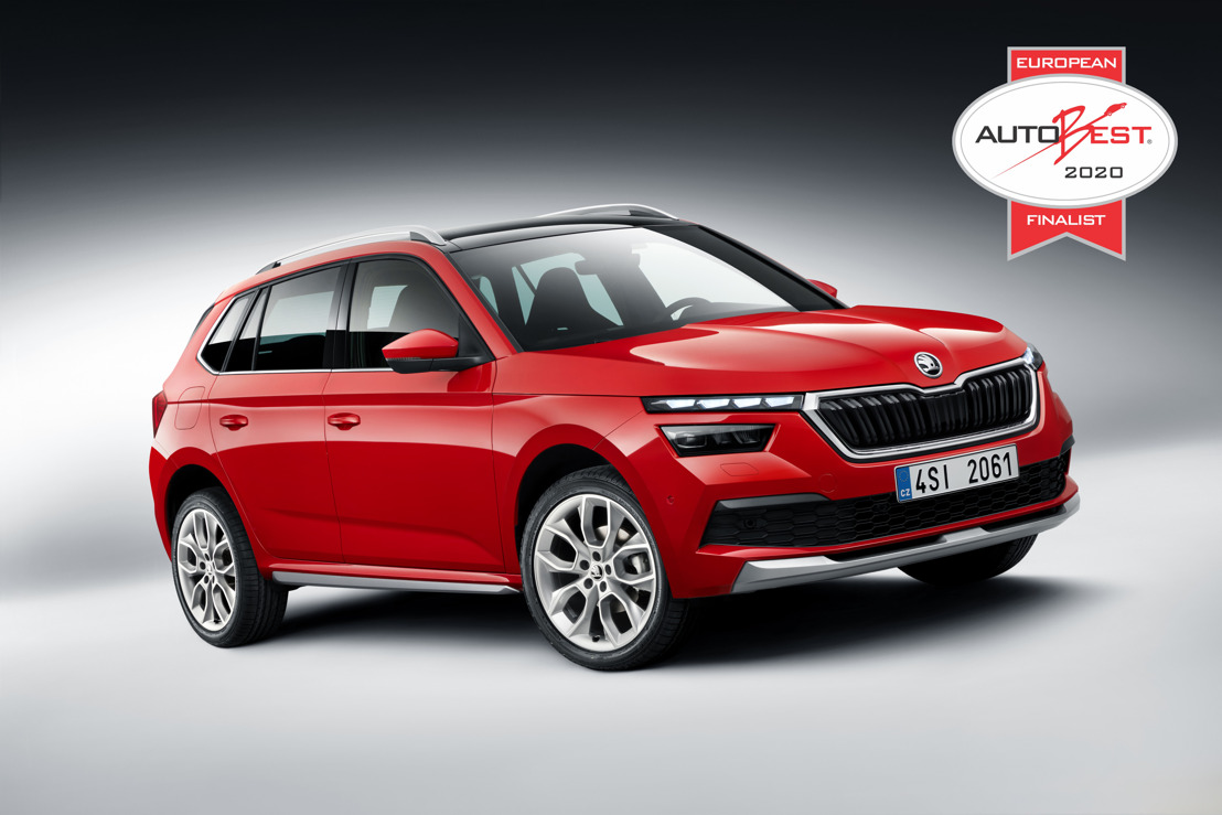 ŠKODA KAMIQ shortlisted for European AUTOBEST award