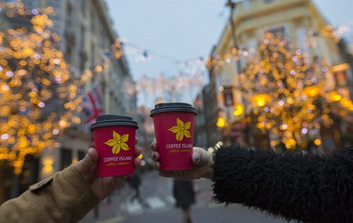 Preview: Christmas in a Cup: Coffee Island Launches Brand New Drinks Full of Holiday Cheer
