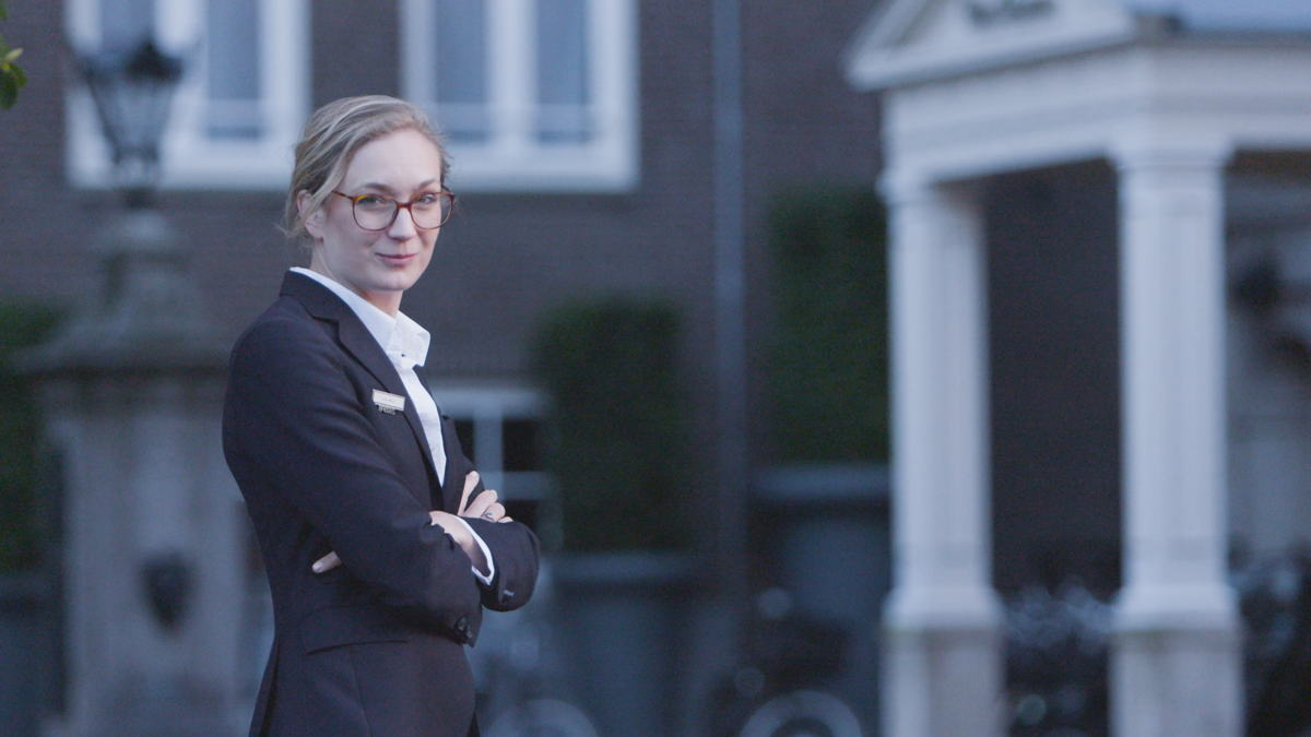 Lotte Wolf voor Sofitel Legend The Grand Amsterdam (Credits: De Nieuwe Garde KRO-NCRV)