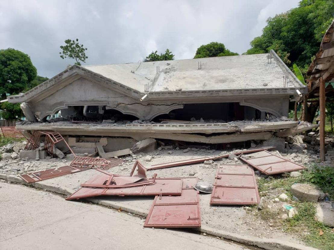 MSF responde a las necesidades médicas urgentes causadas por el terremoto en el sur de Haití