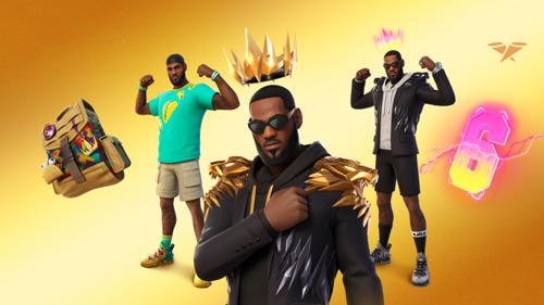El Rey, LeBron James, se une a la Serie de Ídolos de Fortnite