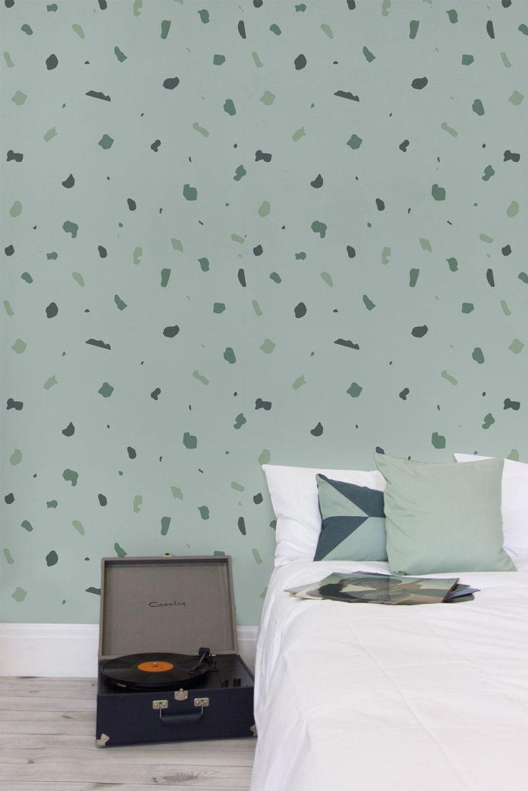 Small Green Terrazzo - Styled