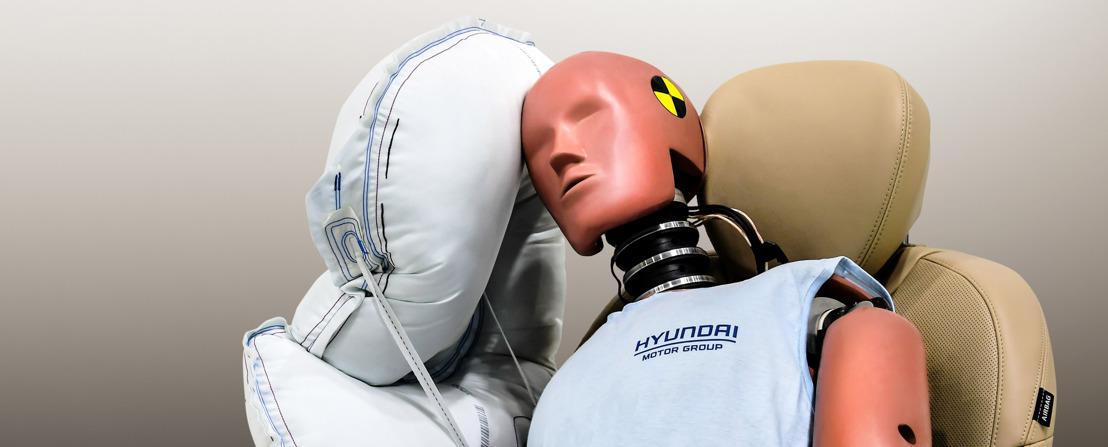 Hyundai Motor Group développe un airbag latéral intégré au milieu