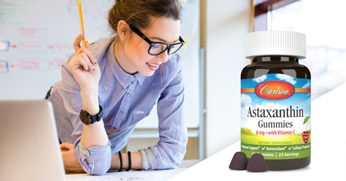Carlson Introduces Astaxanthin Gummies with Vitamin C for Immune Support