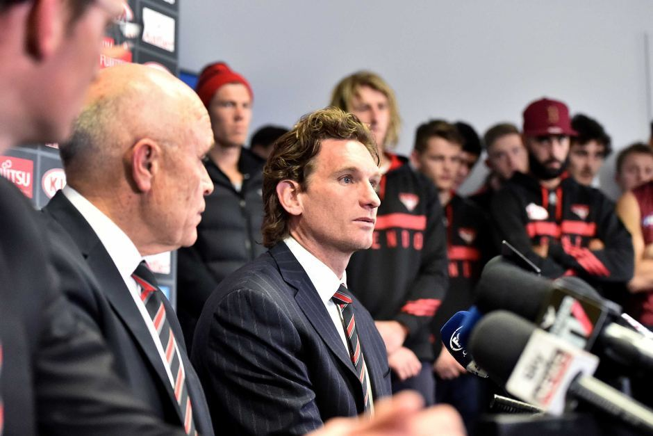 James Hird exclusive interview live on ABC News 24 this Sunday