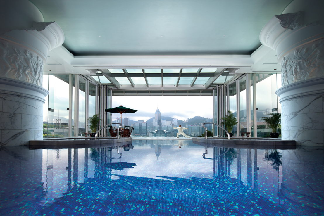The Peninsula Hong Kong - Victoria Harbour View from the Pool