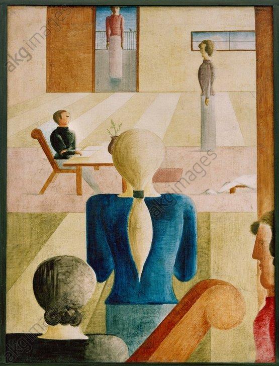 Oscar Schlemmer, School for Women, 1930<br/>AKG325393