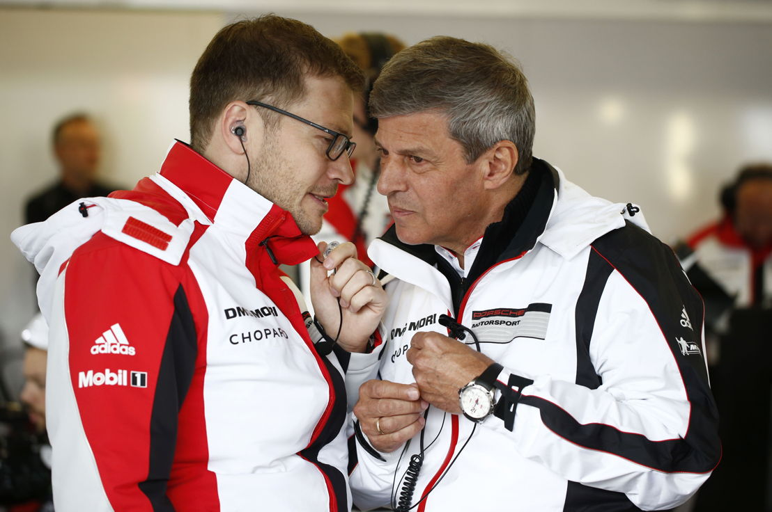 Andreas Seidl, Team Principal Porsche Team, Fritz Enzinger, Vice President LMP1 (l-r)