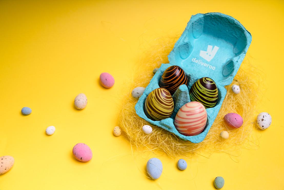 Deliveroo nous surprend pour Pâques avec des goûts œufs-riginaux !