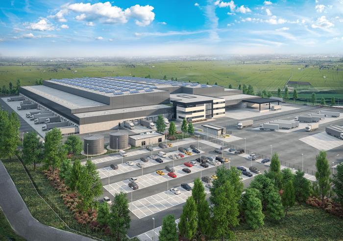 Lidl entame la construction de sa nouvelle plate-forme logistique de La Louvière