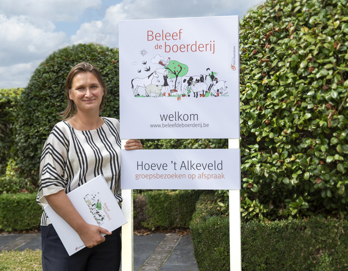 Vernieuwd netwerk van Oost-Vlaamse bezoekboerderijen van start