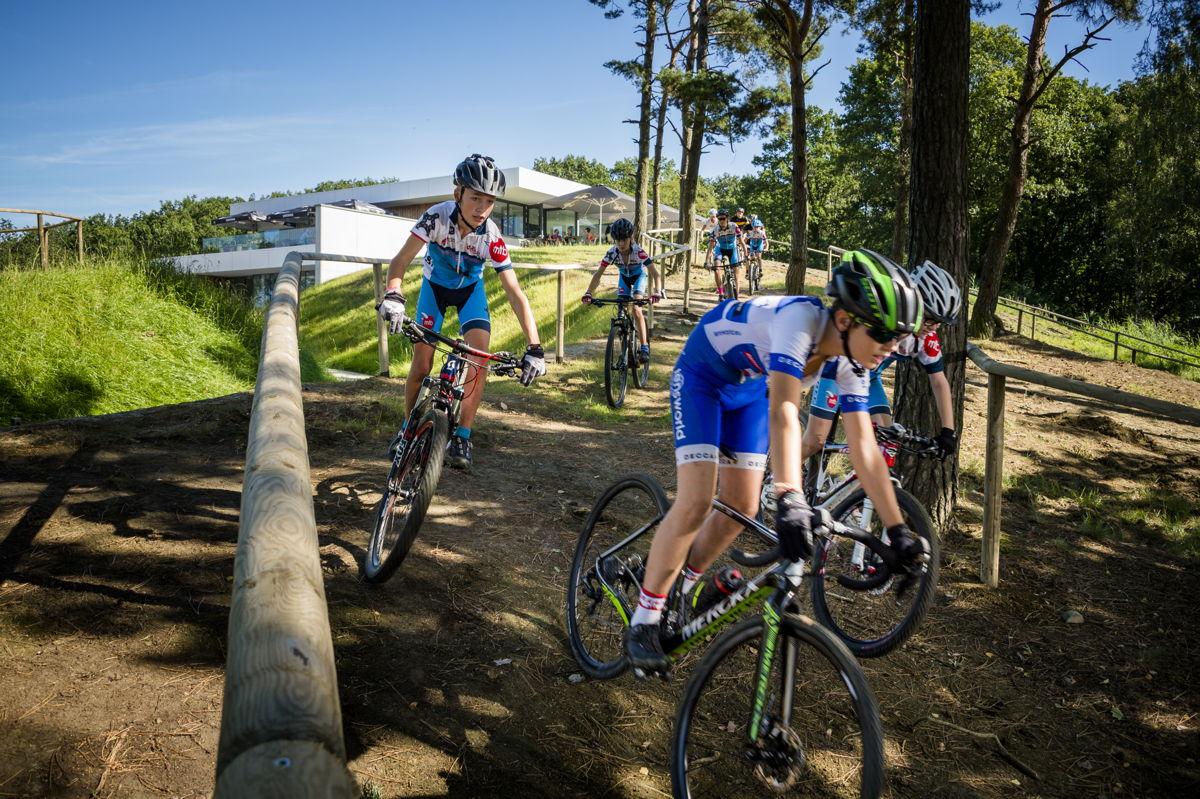 Cyclocross-parcours op de Balenberg (copyright: Lander Loeckx)