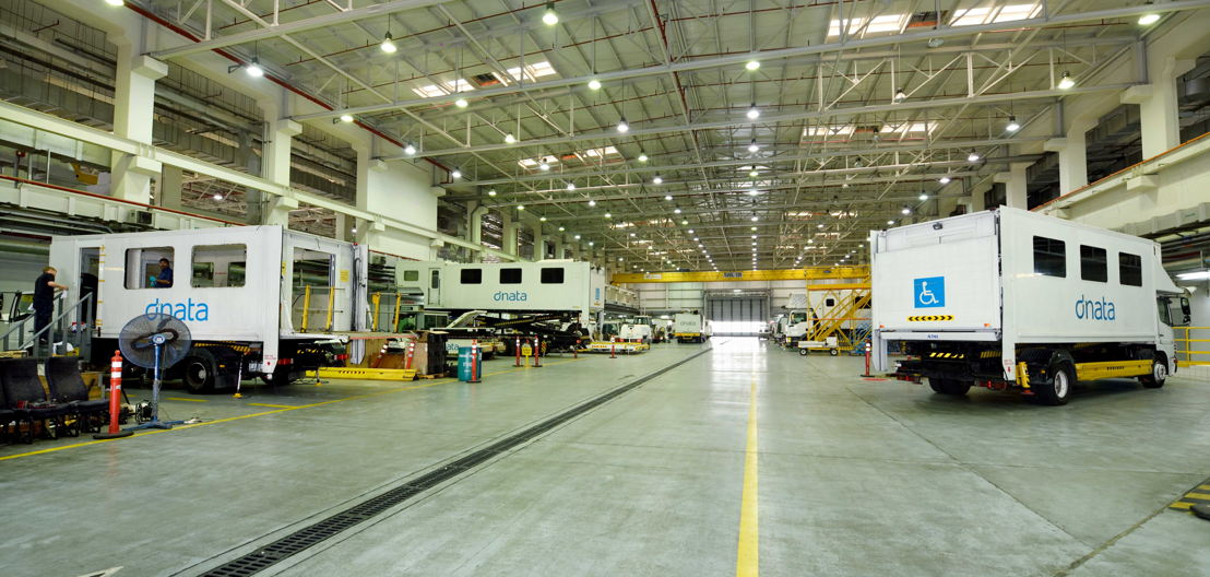 Over 80 dnata units of GSE have so far been renewed at dnata's <br/>36,000 sqm GSE maintenance base located at DXB Airport.