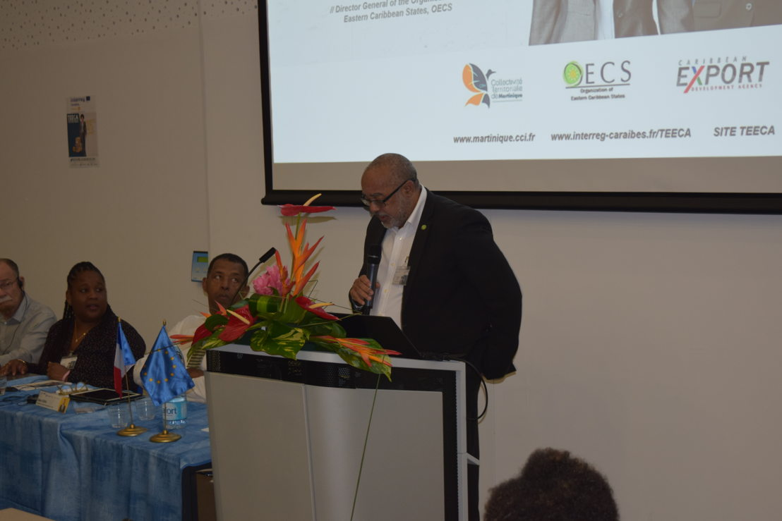 Director General of the OECS Commission, Dr. Didacus Jules