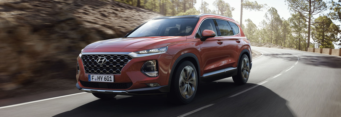 New Generation Hyundai Santa Fe als Weltpremiere in Genf