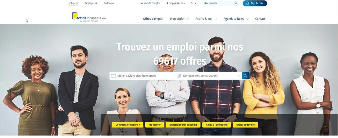 Actiris lance de nouveaux outils digitaux pour préserver au mieux l'emploi en cette période de déconfinement