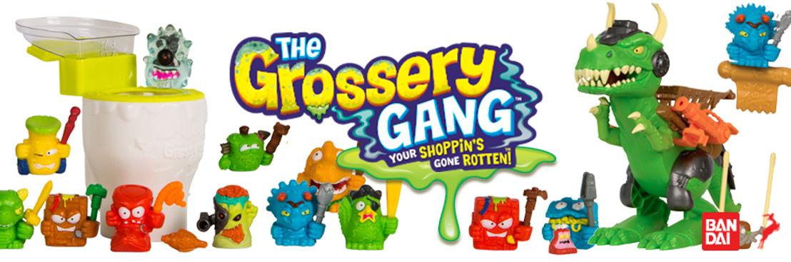 Los Grossery Gang, viajan por el tiempo y nos traen su nueva película y una línea de juguetes más asquerosa