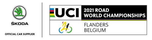 ŠKODA Import Belgium is Official Car Supplier van het WK Wielrennen 2021
