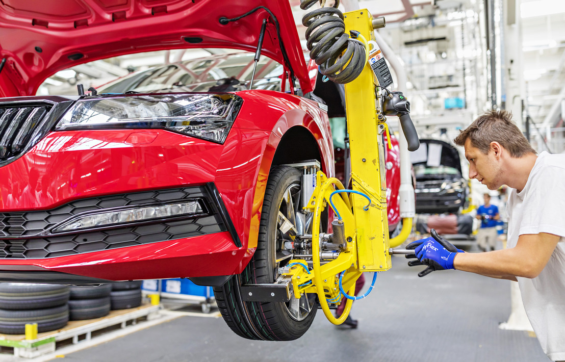 ŠKODA AUTO gains additional capacity within VOLKSWAGEN Group's production network