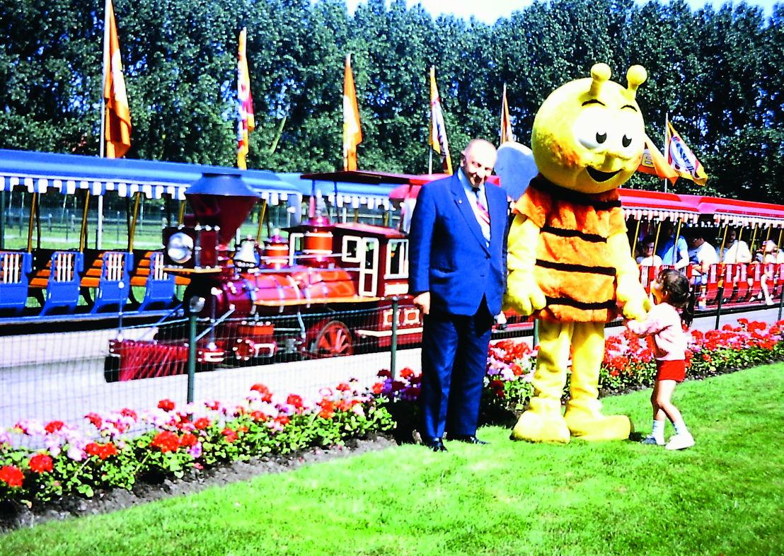 Albert Florizoone viert mee bij het 50-jarig bestaan van het Meli-park