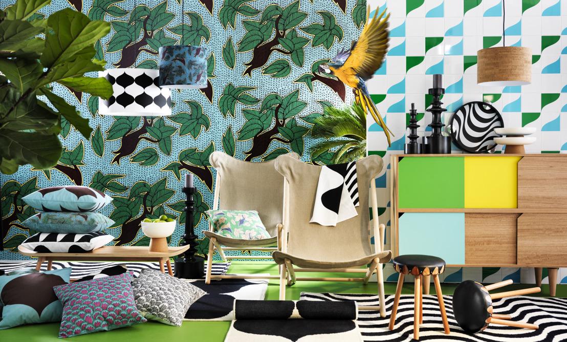 Zweden flirt met Brazilië in nieuwe tijdelijke designcollectie TILLFÄLLE