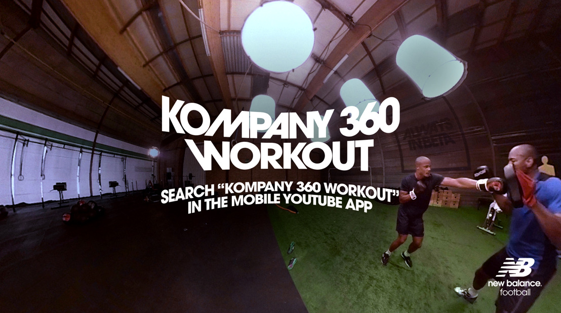 Kompany surprises with 360° workout video