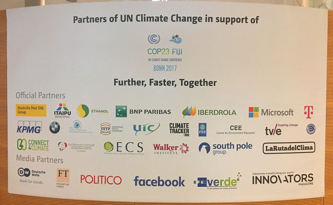 OECS featured among partners of UN Climate Change in support of COP23.