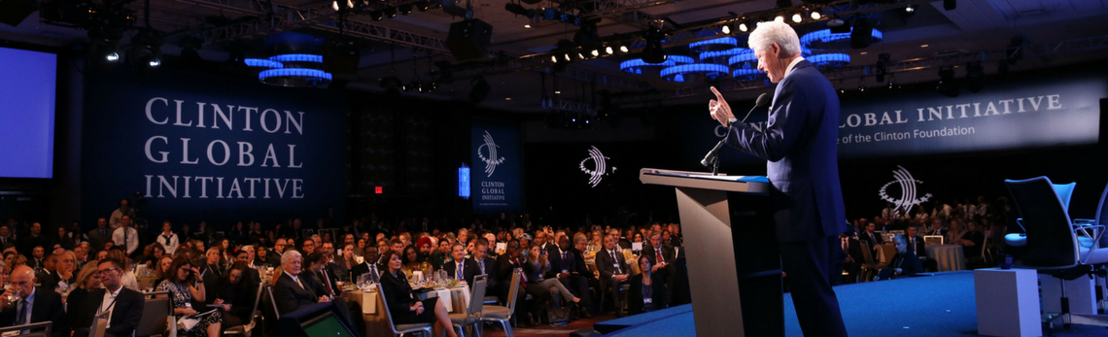 CHTA Engages On Recovery Plans at Clinton Global Initiative