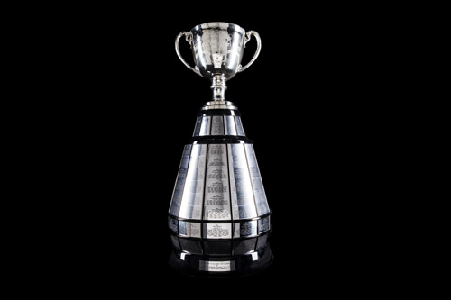 ICONIC GREY CUP TROPHY GETS A NEW BASE