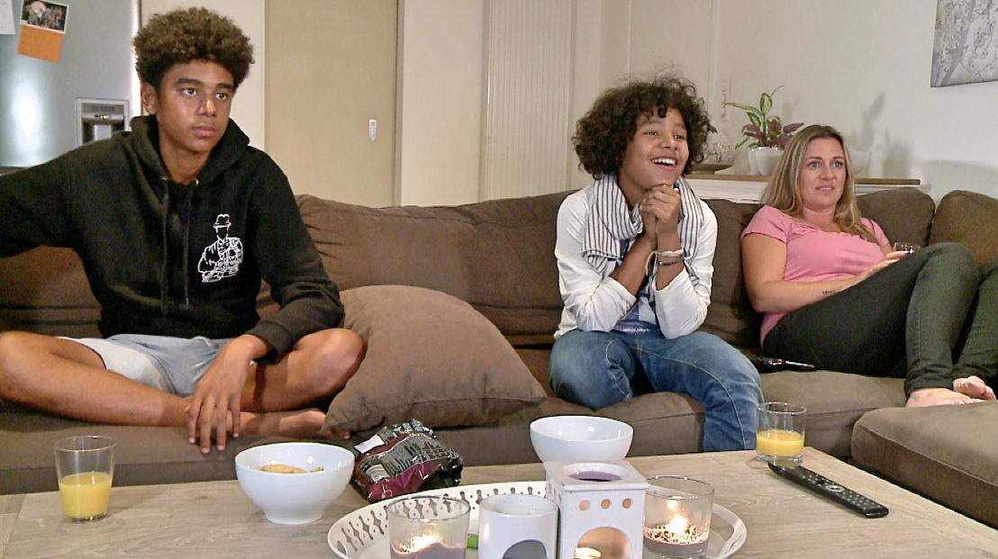 Familie Mavuela<br/>Hallo televisie! (c) VRT