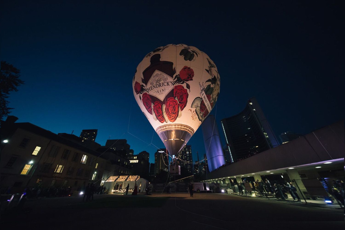 POMP AND PECULIARITY: HENDRICK'S GIN L.E.V.I.T.A.T.R.E. RETURNS TO ENCHANT FROM SUNSET TO SUNRISE AT THE 13TH ANNUAL NUIT BLANCHE TORONTO