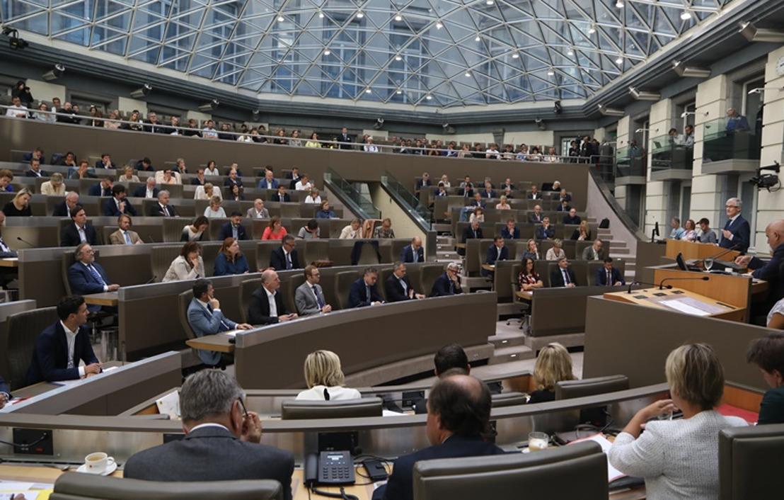 Vlaams Parlement 2017-2018 in vogelvlucht