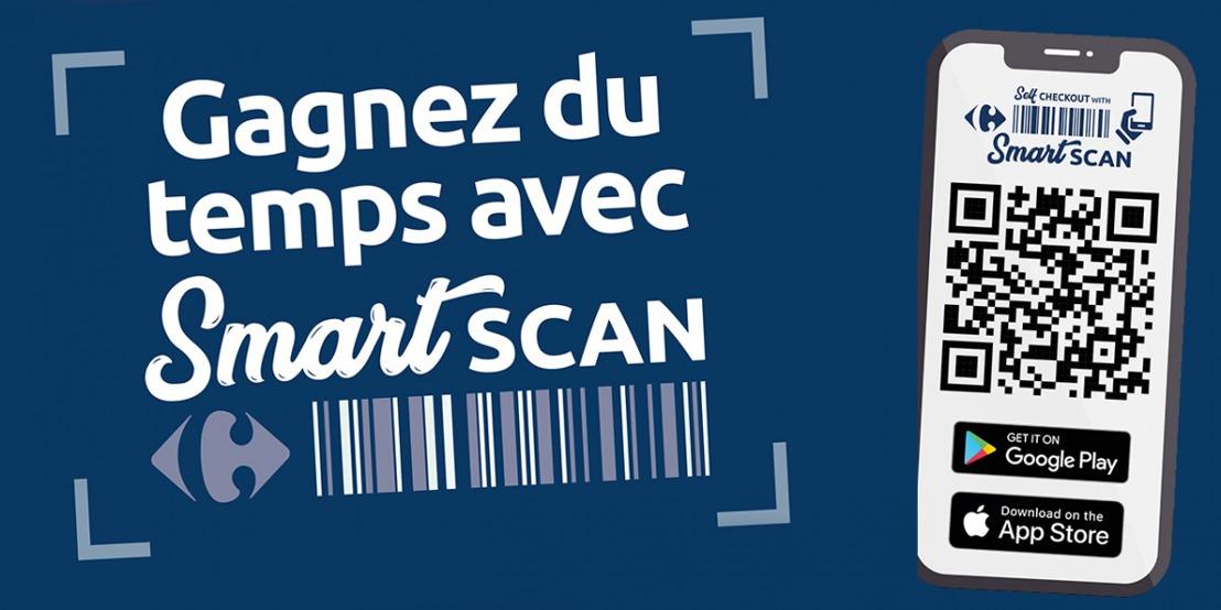 Smartscan : scanner les produits avec son smartphone via l'application Carrefour